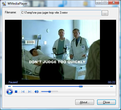 Windows Media Control